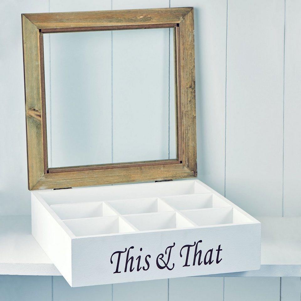 butlers campagne aufbewahrungsbox this that mit 7 f chern online kaufen otto. Black Bedroom Furniture Sets. Home Design Ideas