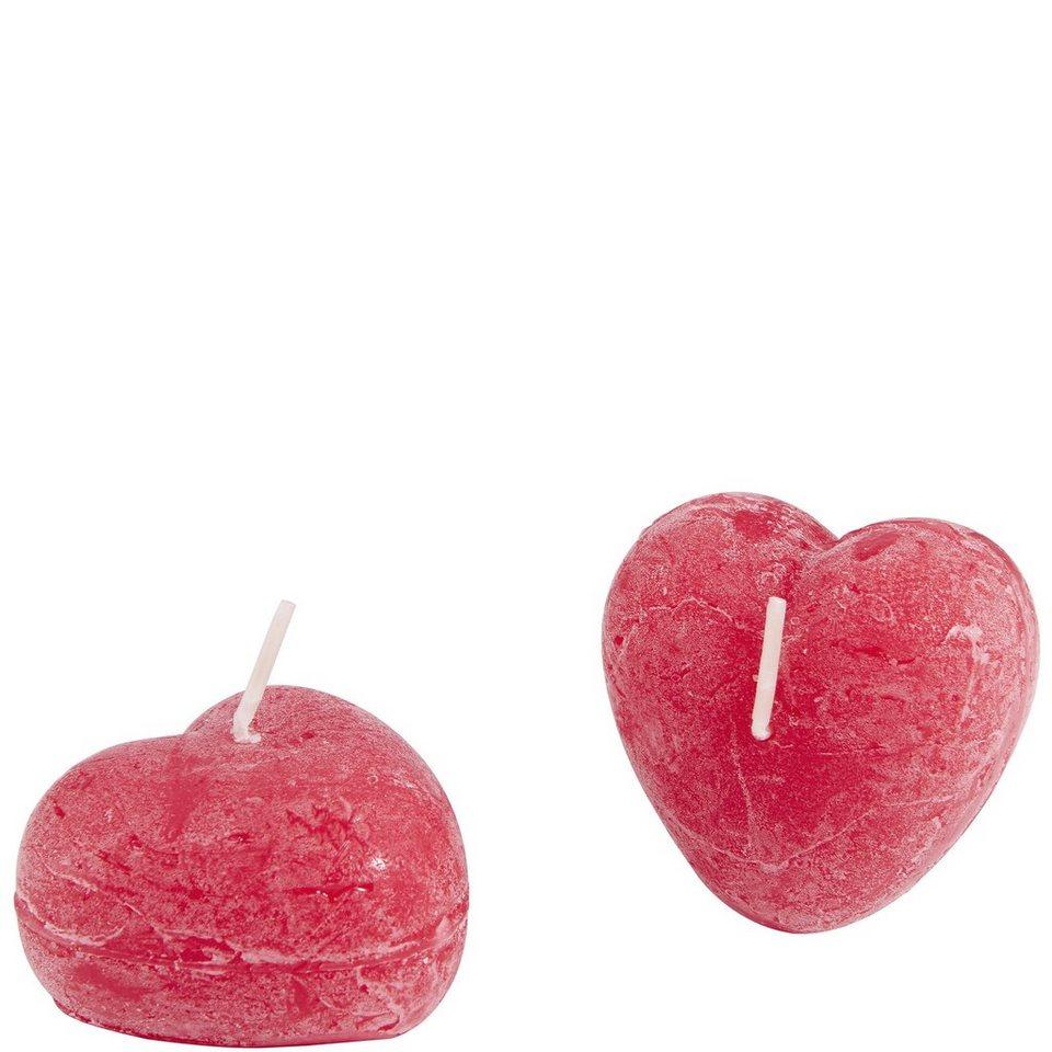 Butlers heart kerze herz 2er set online kaufen otto for Butlers kerzen