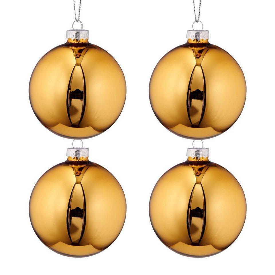 BUTLERS HANG ON »Glaskugeln Set« in gold