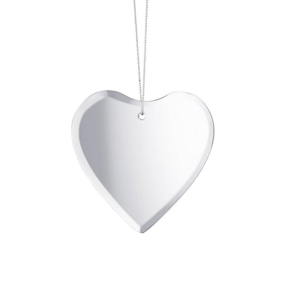 BUTLERS HANG ON »Spiegel Anhänger Herz« in Transparent