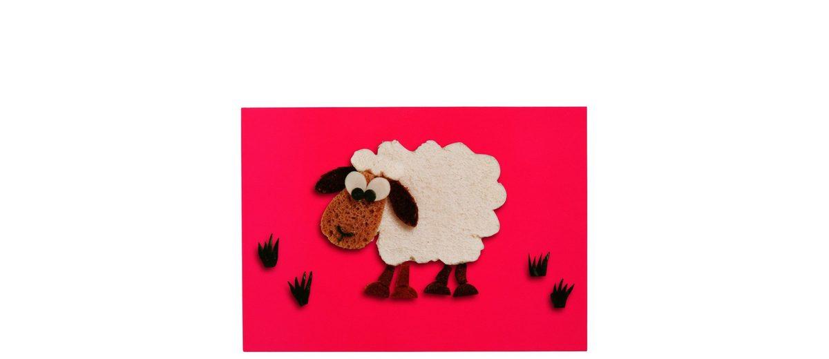 BUTLERS CARD »Postkarte Sandwich-Schaf«