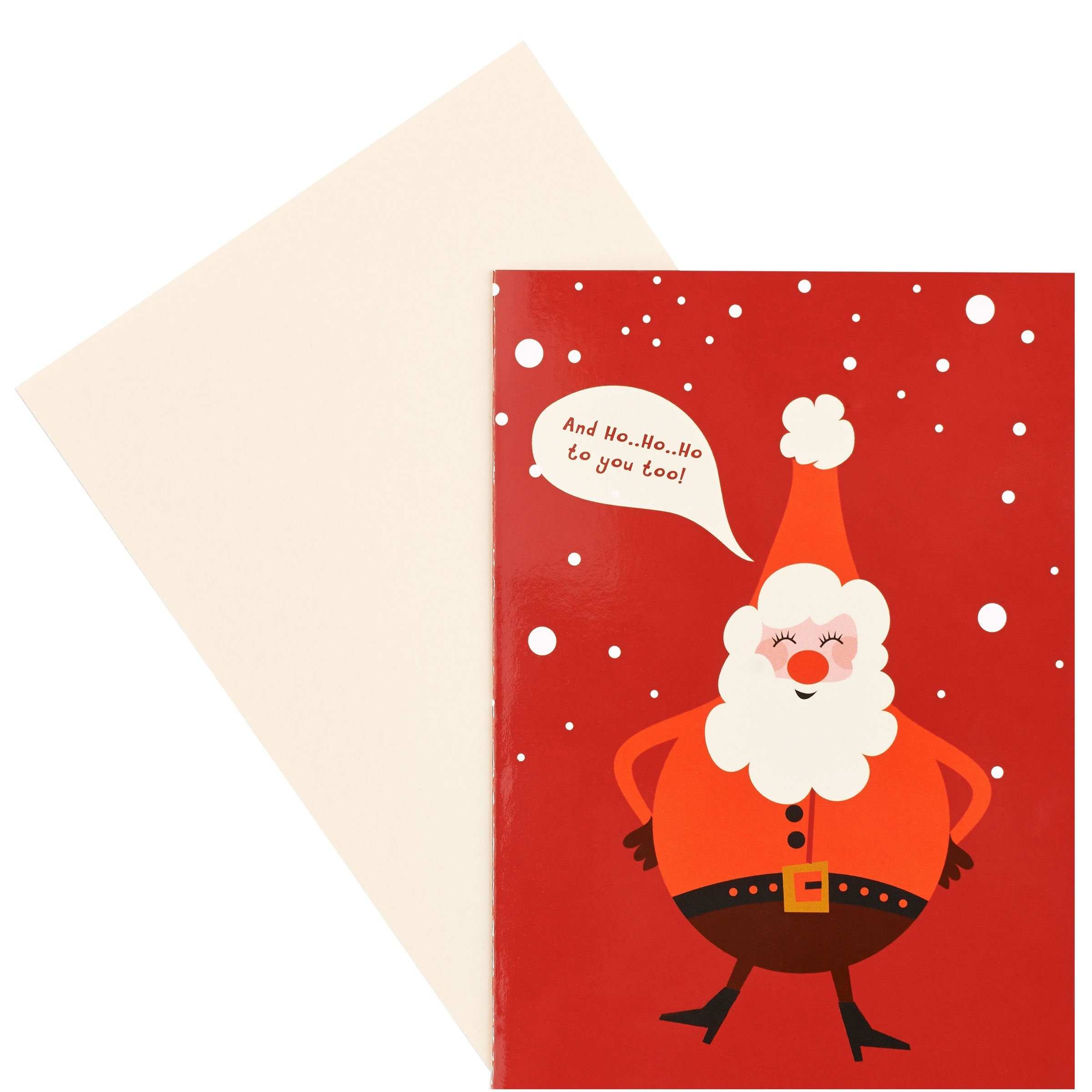 BUTLERS CARD »HoHoHo to you«