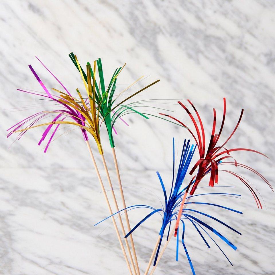 BUTLERS COCKTAIL »Glitter Sticks« in Bunt