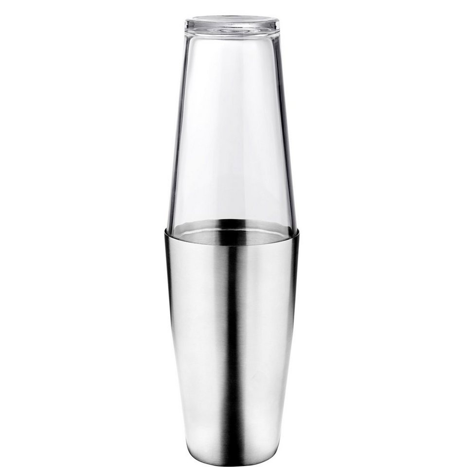 BUTLERS COSMOPOLITAN »Cocktailshaker mit Glas« in Transparent
