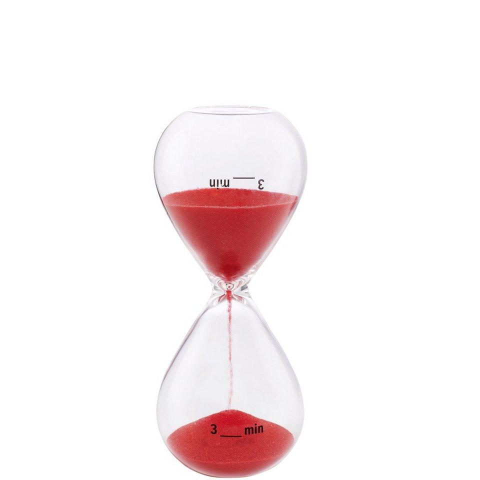 BUTLERS 3 MINUTES »Sanduhr 3 Minuten« in rot