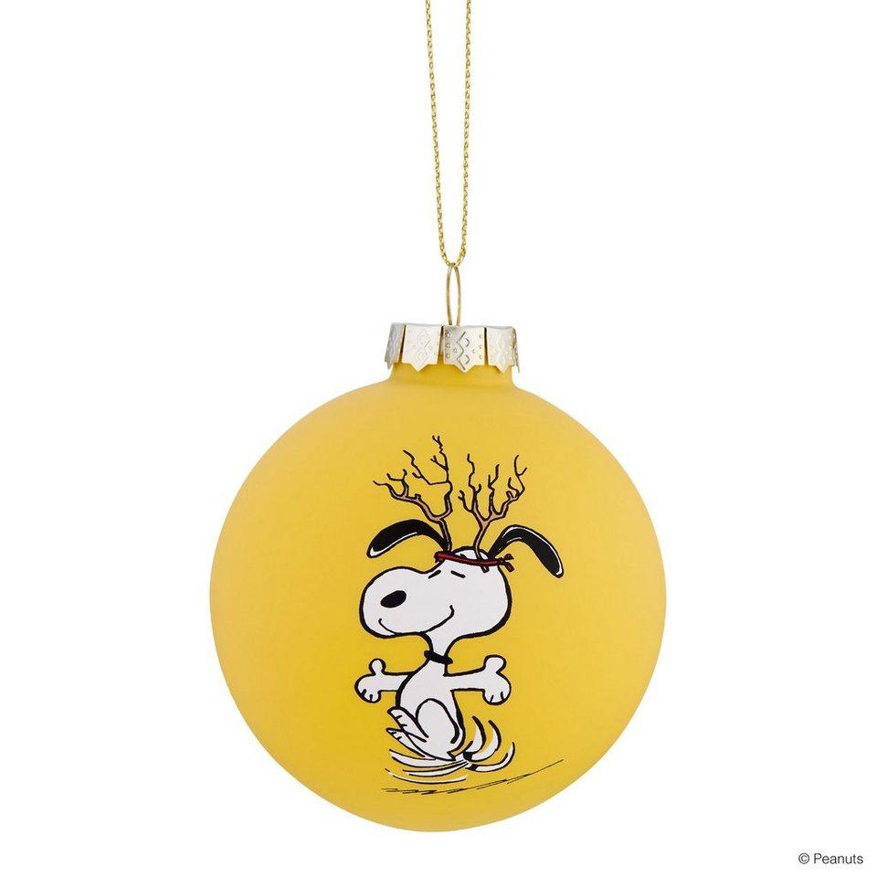 Butlers peanuts glaskugel snoopy geweih kaufen otto for Butlers weihnachtskugeln