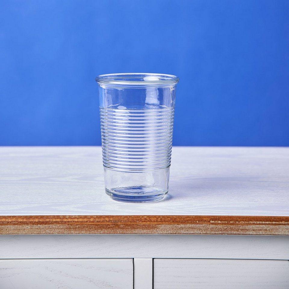 BUTLERS SAILOR »Glas geriffelt« in transparent