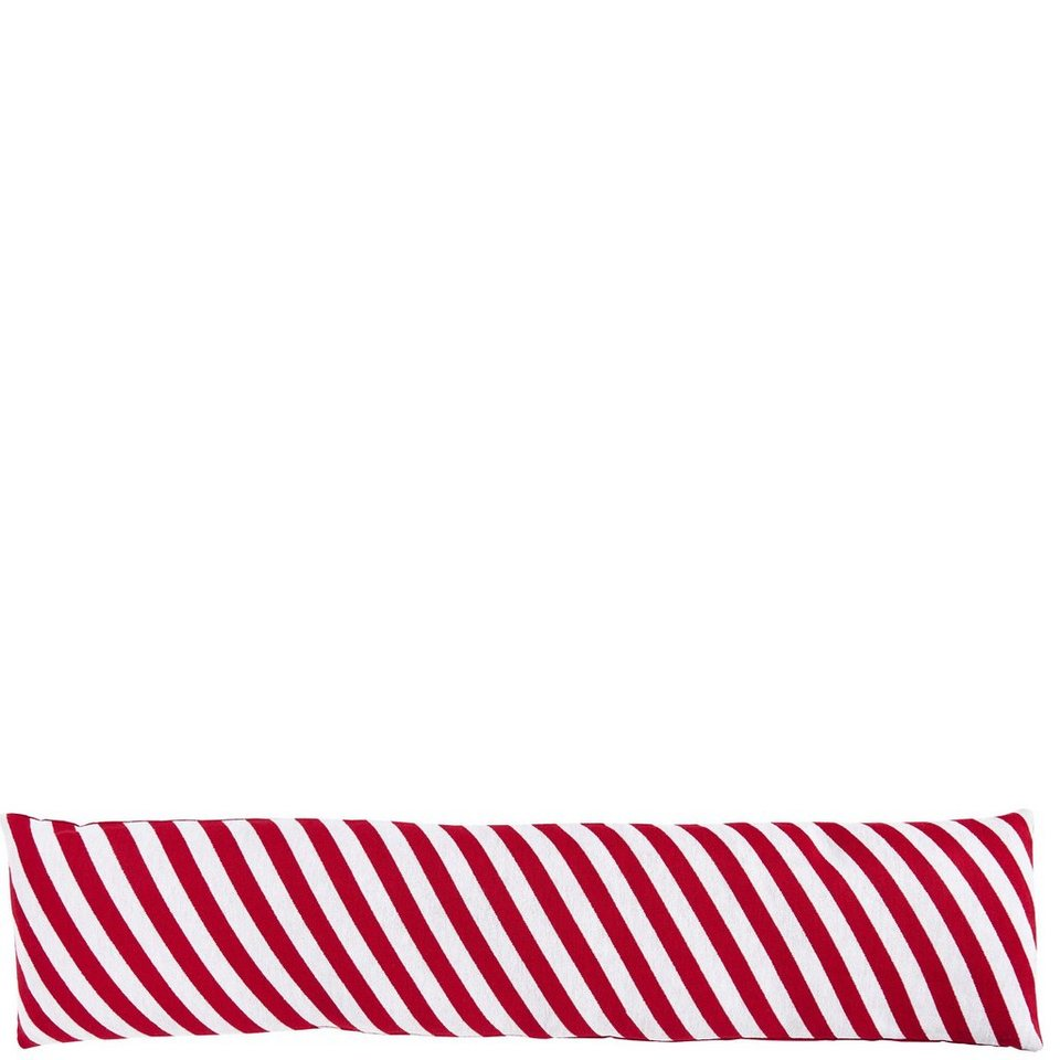 BUTLERS COSY HOME »Zugluftstopper Candy Cane« in rot-weiss