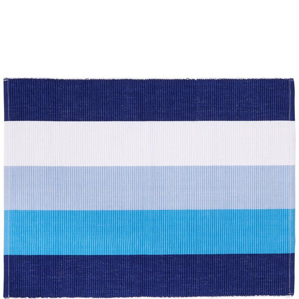 BUTLERS BIG BLUE »Tischset« in blau