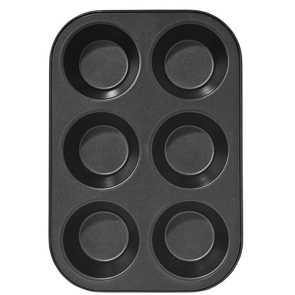 BUTLERS CUPCAKE »Muffinform XL« in Schwarz