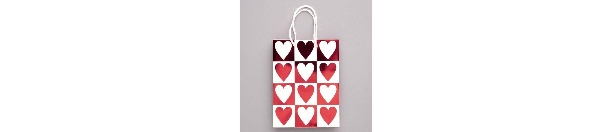BUTLERS HEART TO HEART »Geschenktasche Doppel-Herzen«