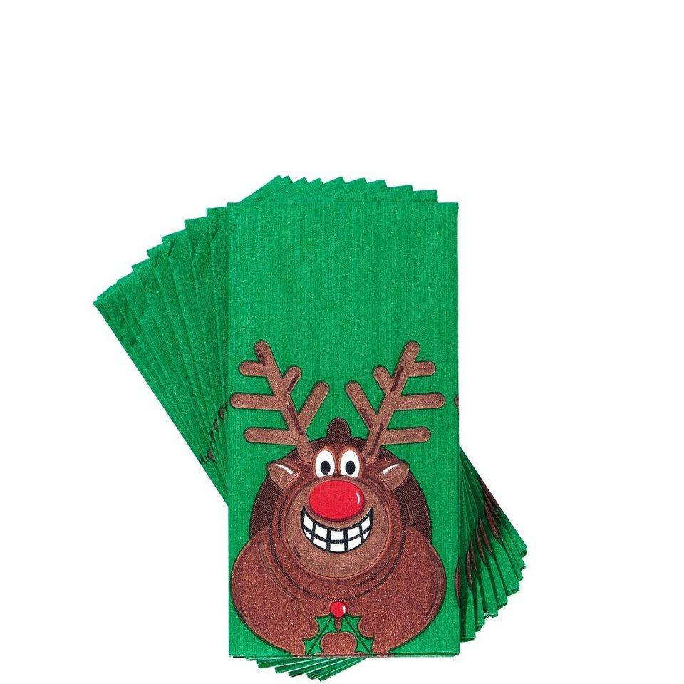 BUTLERS X-MAS »Taschentücher Happy Deer«