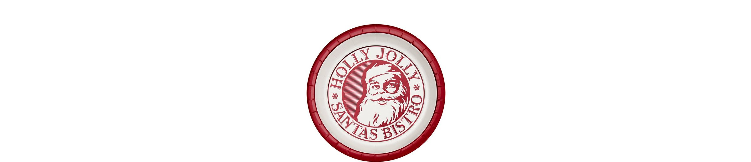BUTLERS HOLLY JOLLY »Pappteller«
