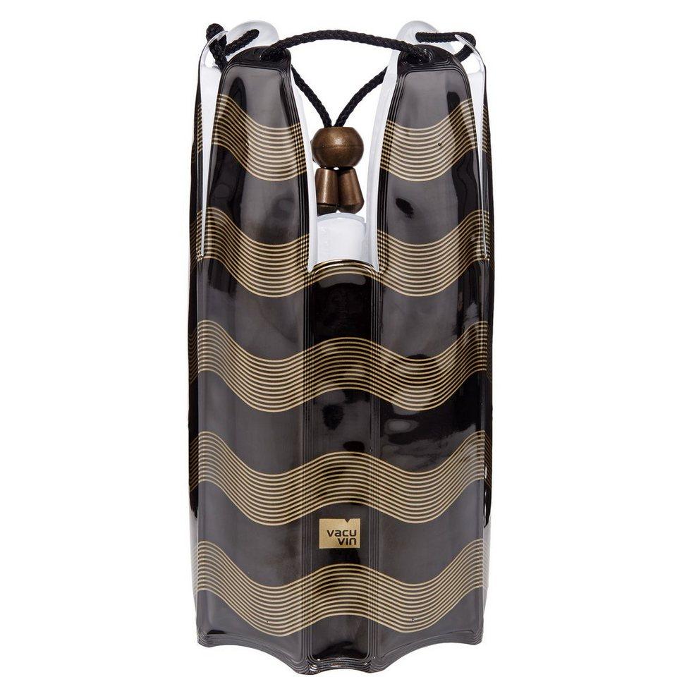 BUTLERS THE COOLER »Kühlmanschette für Flaschen« in schwarz-gold
