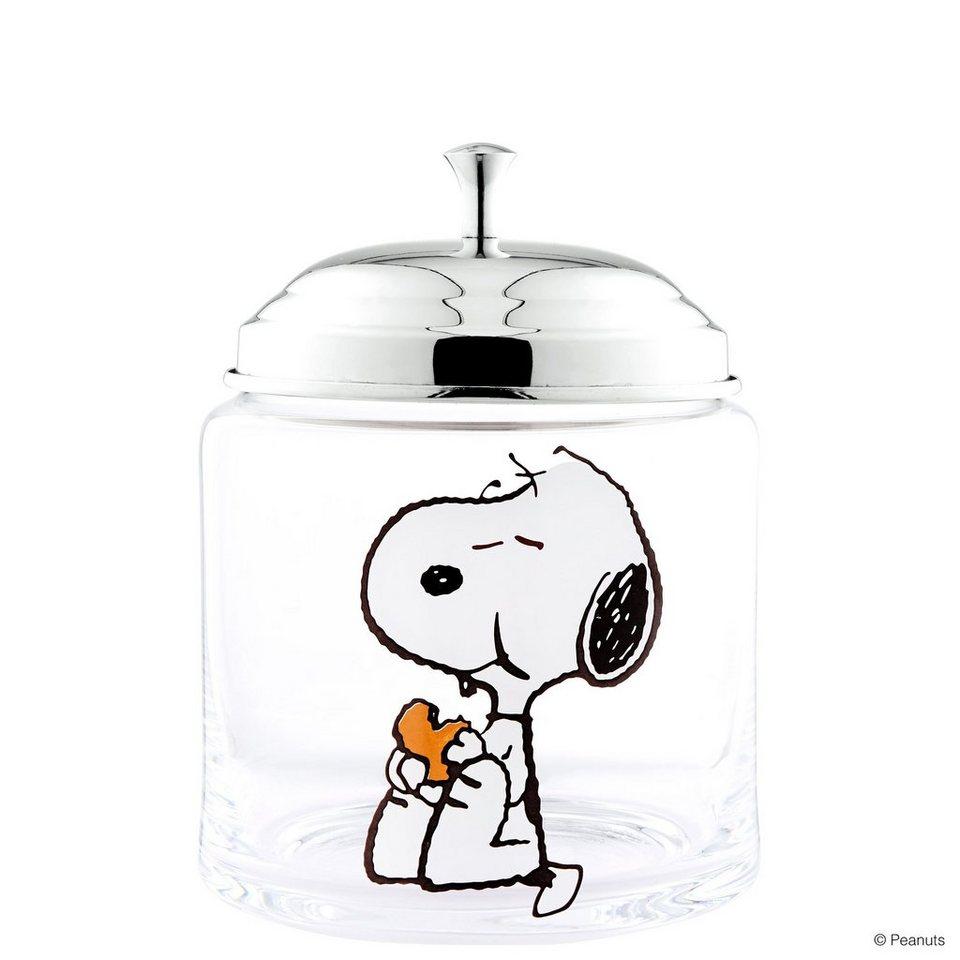 BUTLERS PEANUTS »Keksdose Snoopy« in transparent