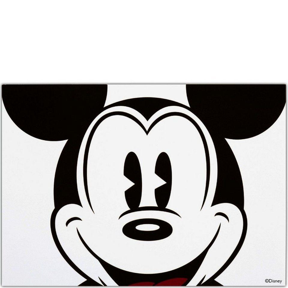 BUTLERS CARD »Postkarte Mickey-Kopf« in Weiß