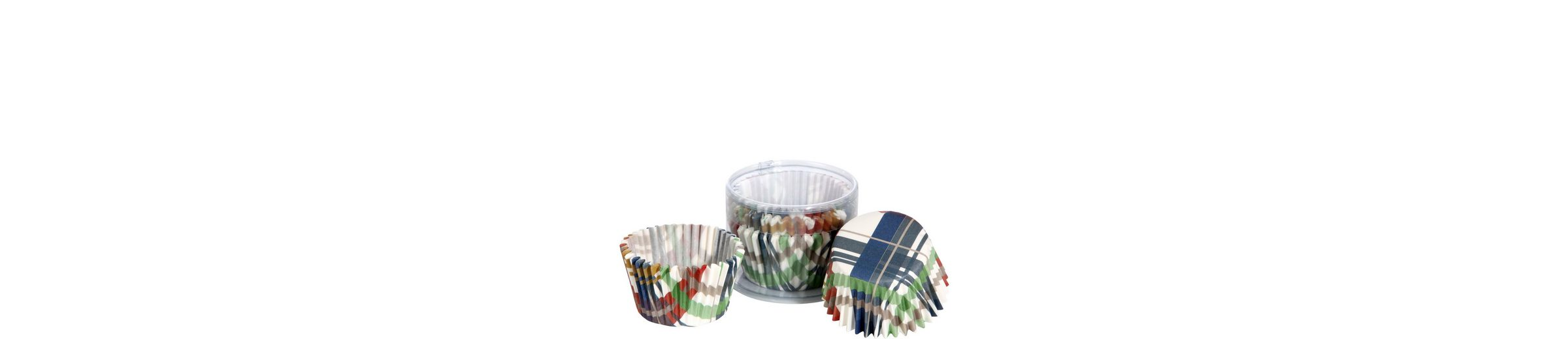 BUTLERS CUPCAKE »Papierförmchen Karo«