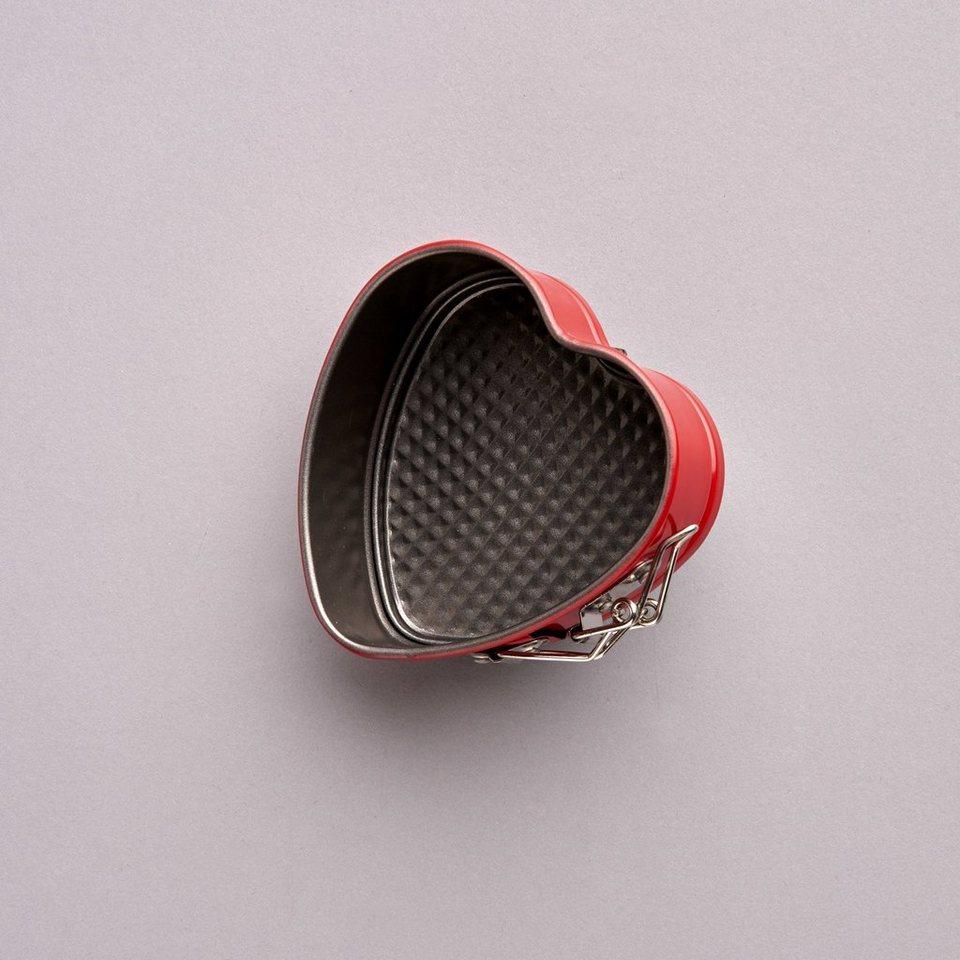BUTLERS SWEETHEART »Backform« in schwarz-rot