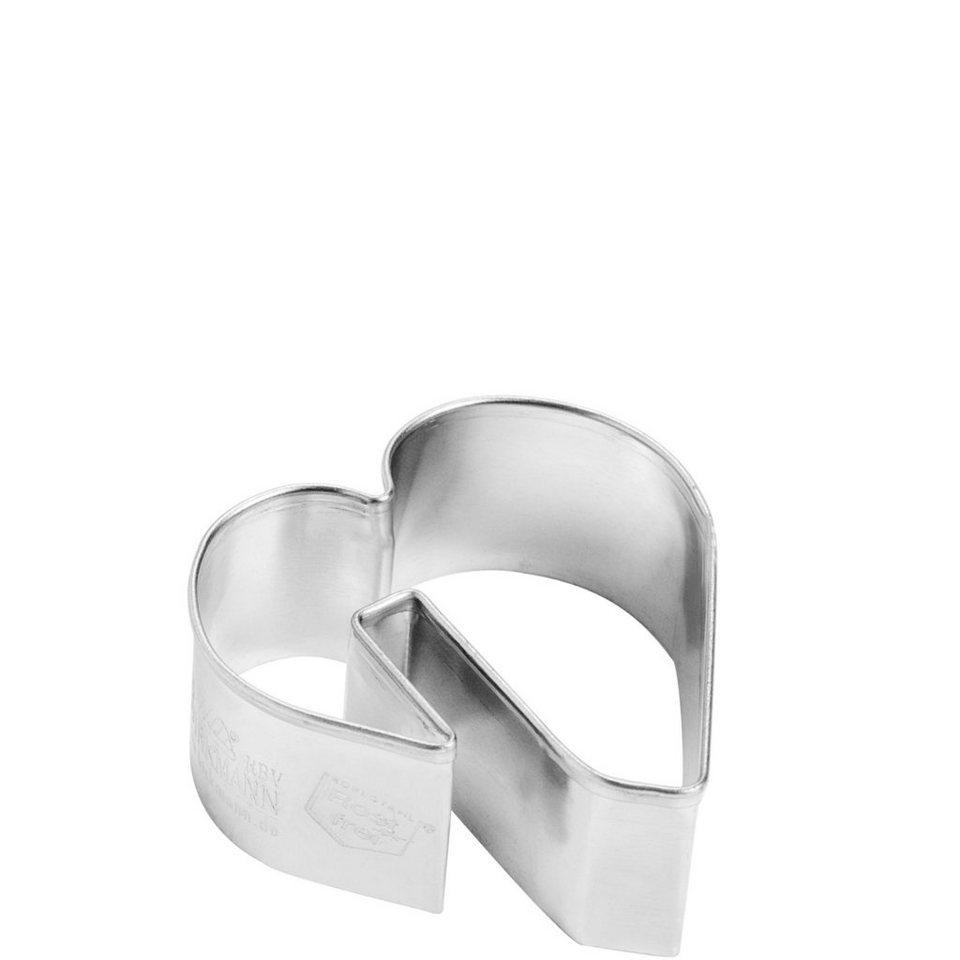 BUTLERS SWEETHEART »Ausstechform Tassenkeks« in Silber