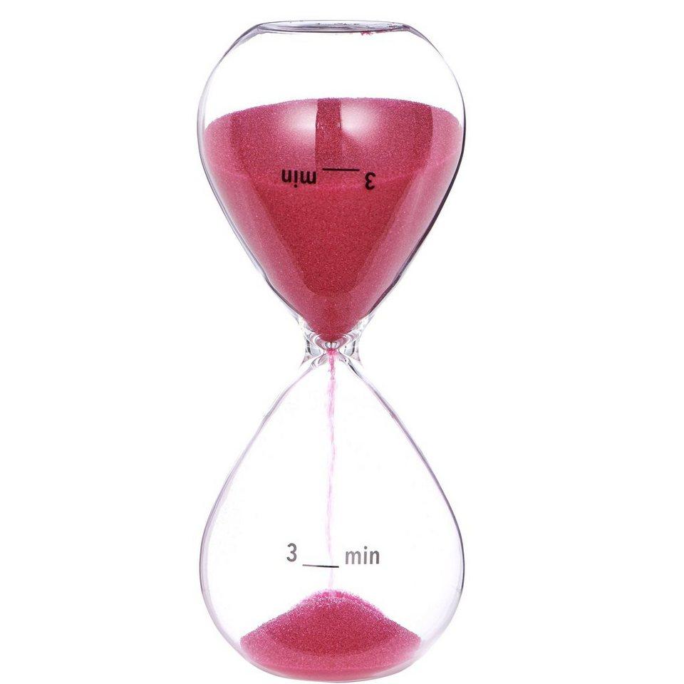 BUTLERS BRUSH HOUR »Sanduhr 3 Minuten« in pink