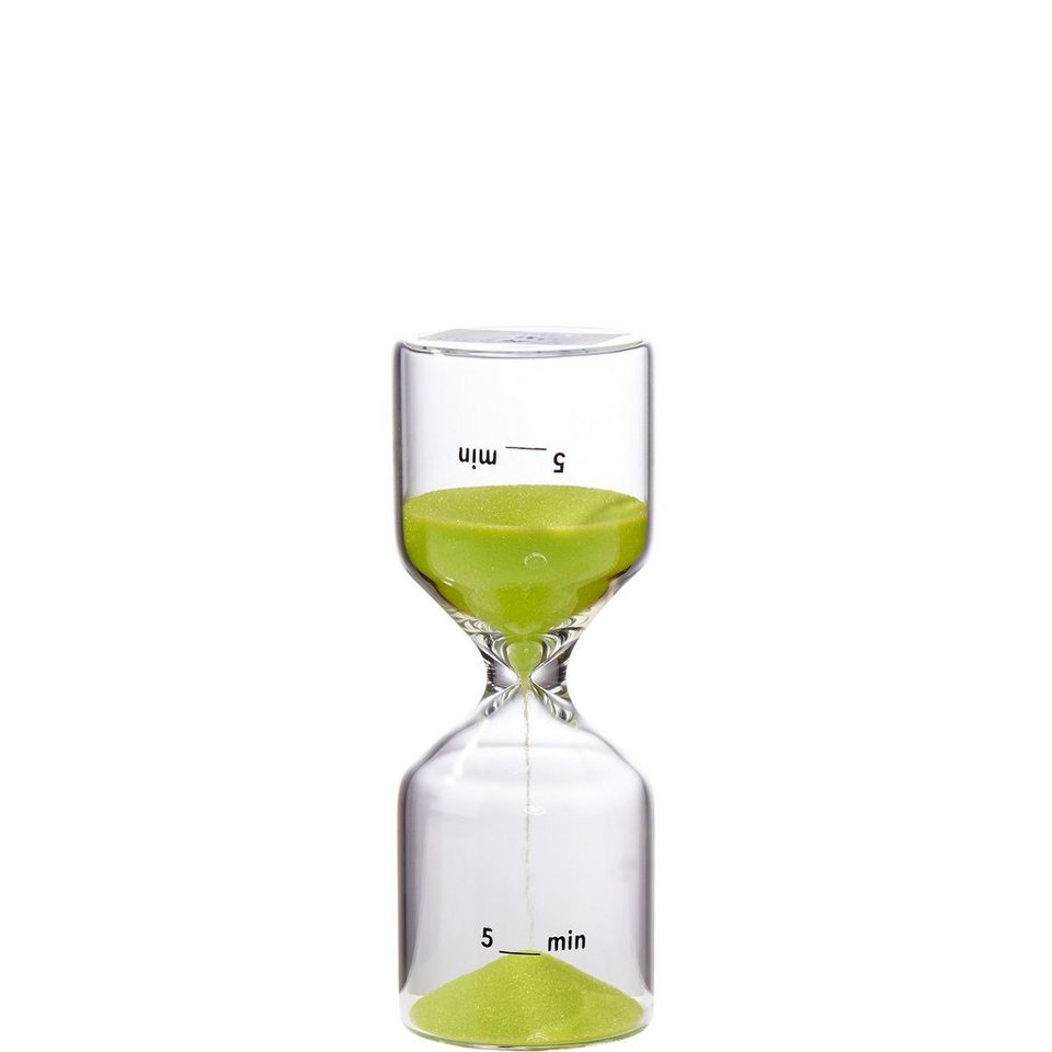 BUTLERS GIMME FIVE »Sanduhr 5 Minuten« in lime