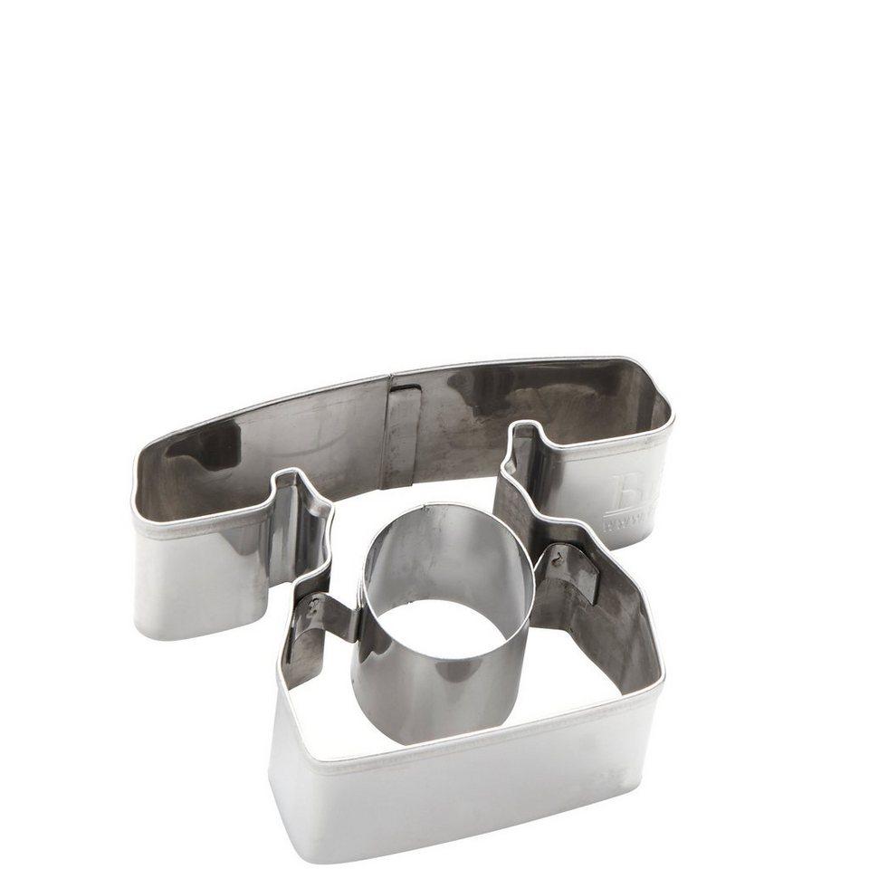 BUTLERS Biscuit »Ausstechform Telefon« in Silber
