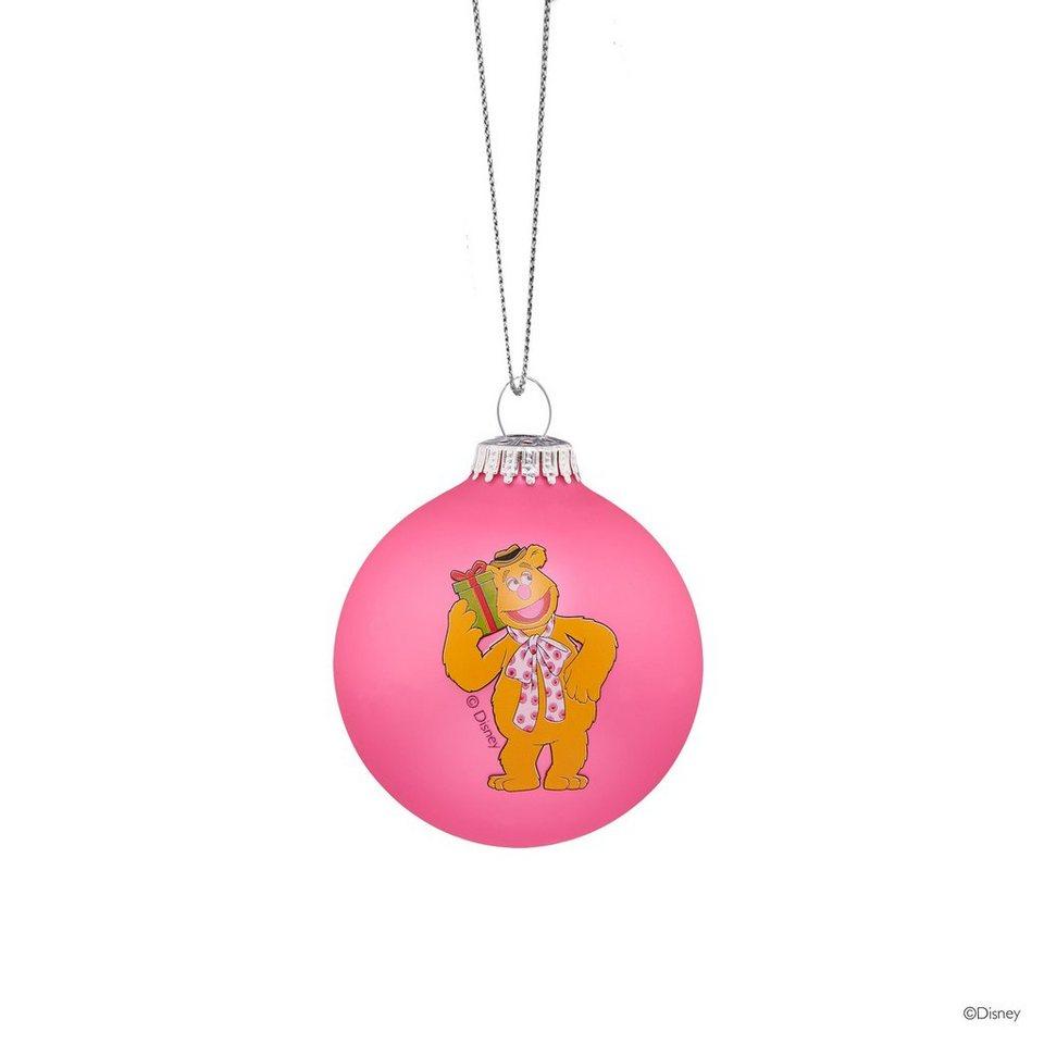 BUTLERS MUPPETS »Glaskugel Fozzie Bear« in rosa