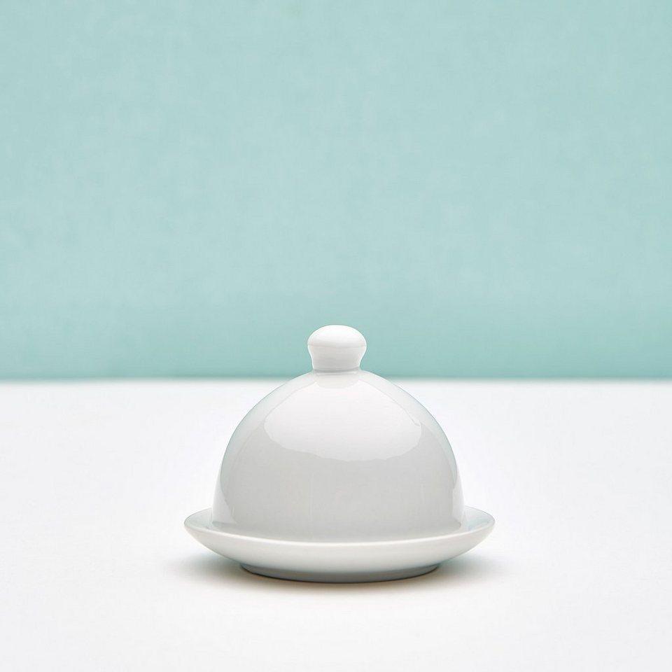 BUTLERS PURO »Miniatur Butterdose« in weiss