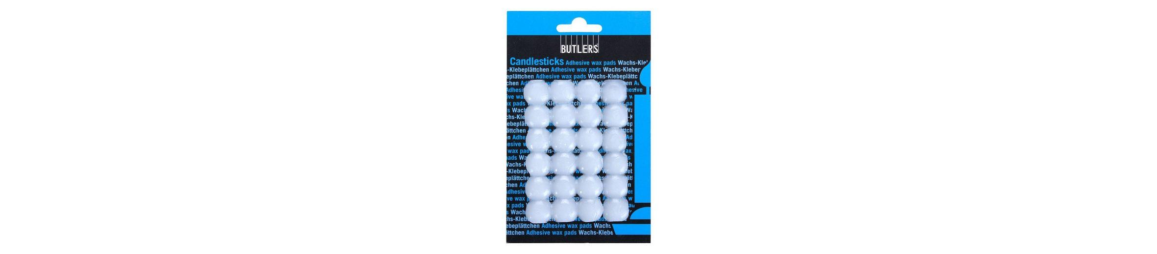BUTLERS CANDLESTICKS »Wachsklebeblättchen 24er«