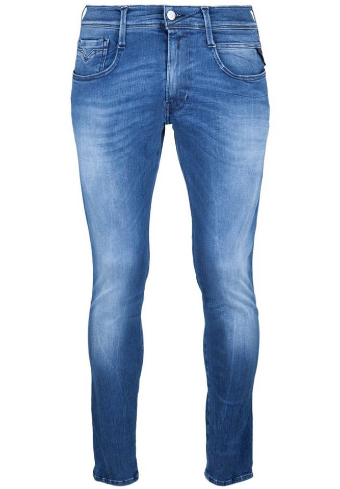 REPLAY Jeans »ANBASS HYPERFLEX« in blue