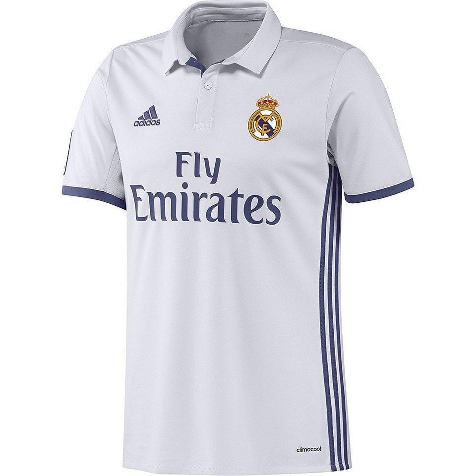 adidas Performance Real Madrid Trikot »Home 2017« in weiss