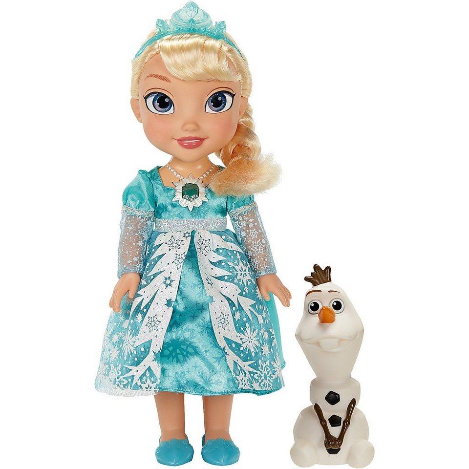 Jakks Pacific Frozen Puppe Glitzerschnee Elsa 35cm