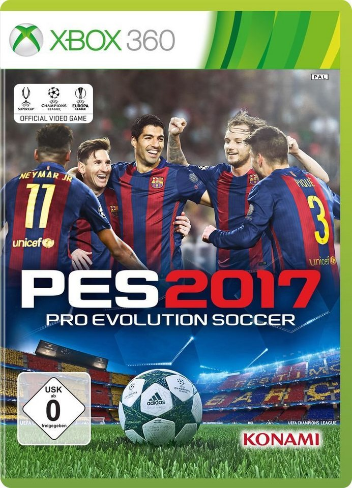 konami xbox 360 spiel pes 2017 online kaufen otto. Black Bedroom Furniture Sets. Home Design Ideas