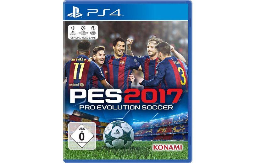 Konami Playstation 4 - Spiel »PES 2017«