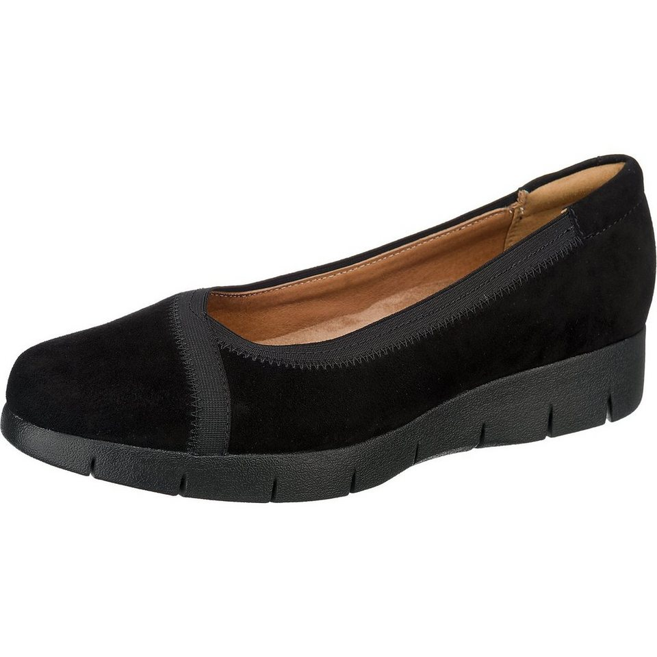 Clarks Daelyn Hill Ballerinas in schwarz