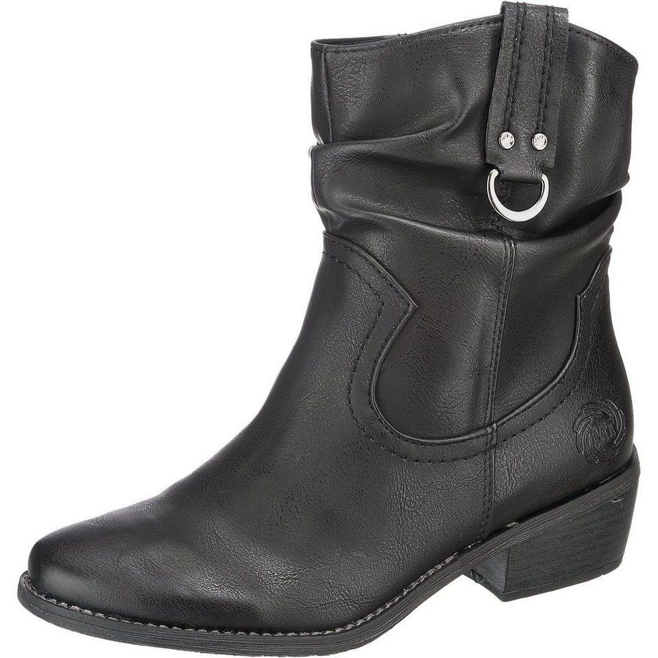 MARCO TOZZI Calvola Stiefeletten in schwarz
