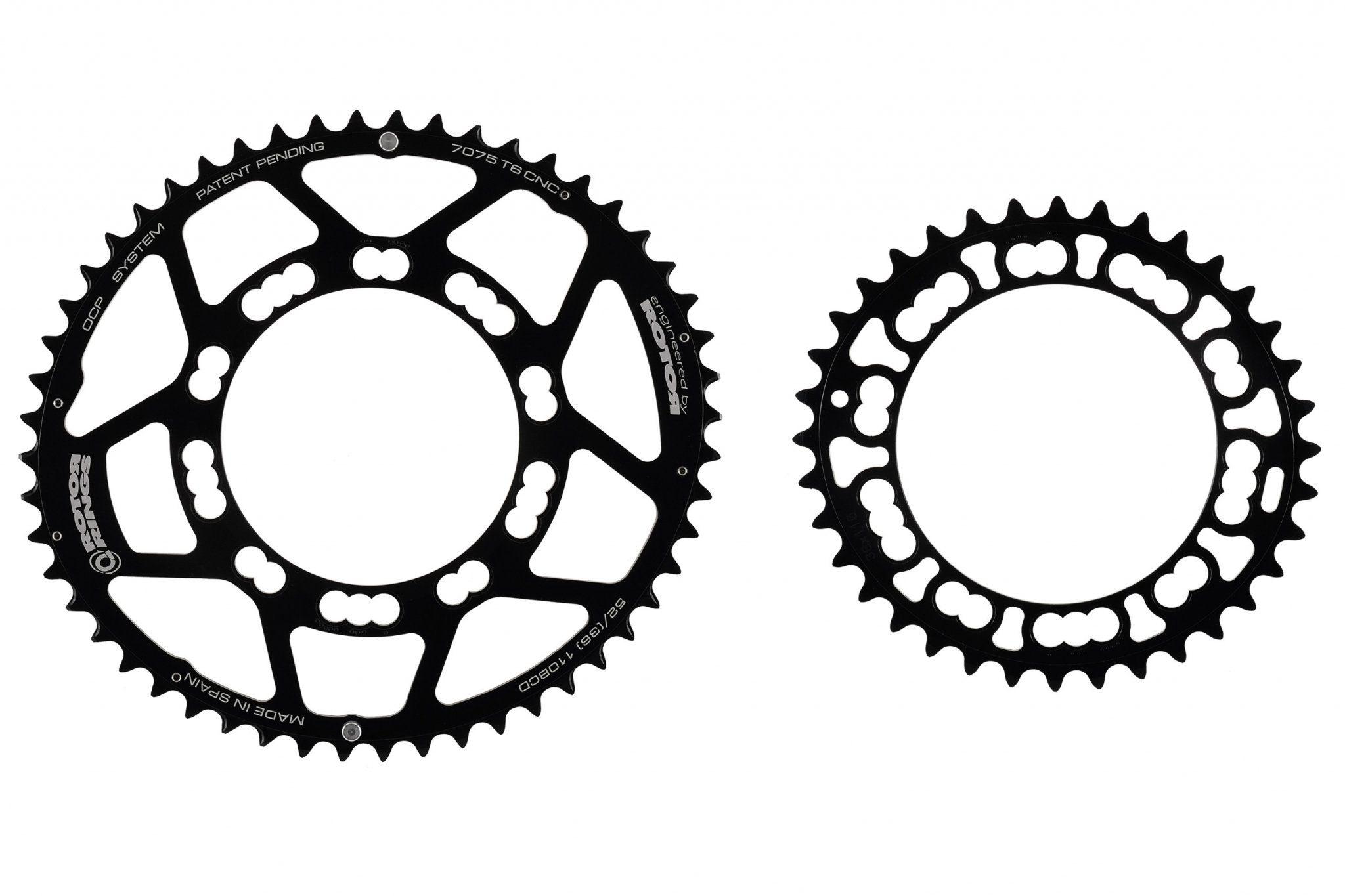 Rotor Kettenblatt »Q-Rings 110 BCD Kettenblatt Set 50/34«