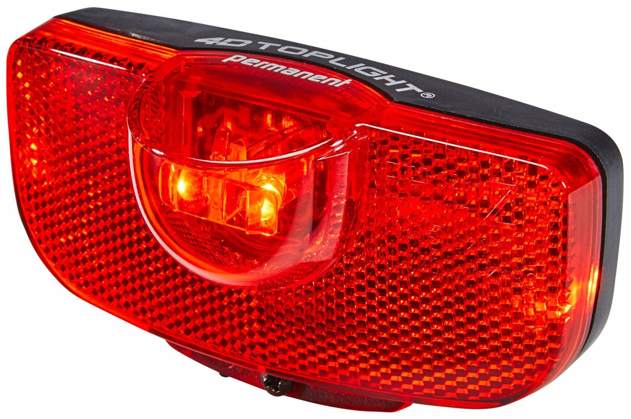 Busch + Müller Fahrradbeleuchtung »4D-Toplight Batterie-Rücklicht permanent«