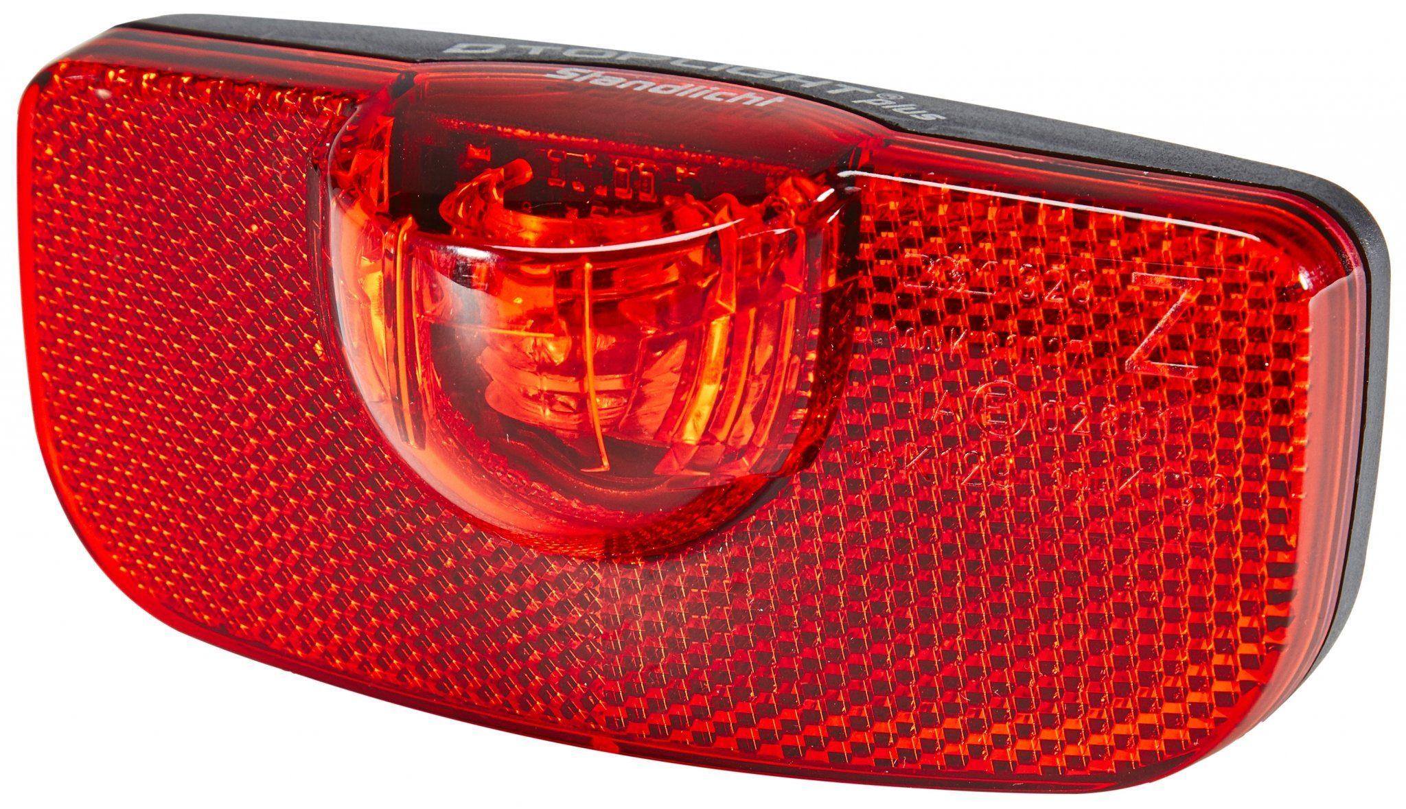 Busch + Müller Fahrradbeleuchtung »D-Toplight Plus Dynamo-Rücklicht schwarz/rot«