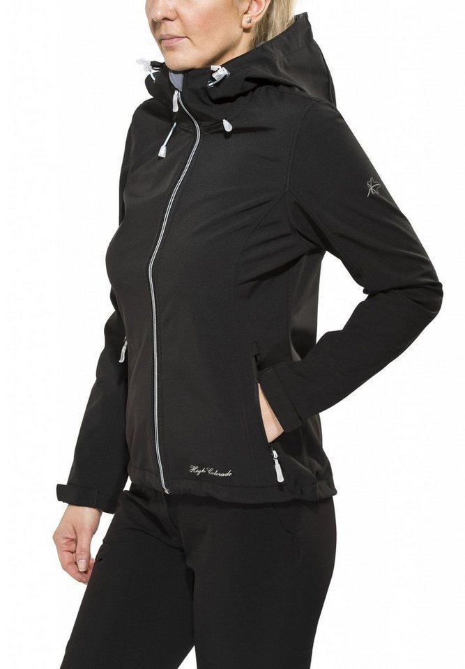 High Colorado Softshelljacke »Tamaro L Softshelljacke Damen« in schwarz