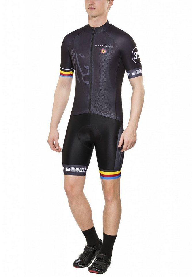 Bioracer Radtrikot »Van Vlaanderen Pro Race Set Men« in schwarz