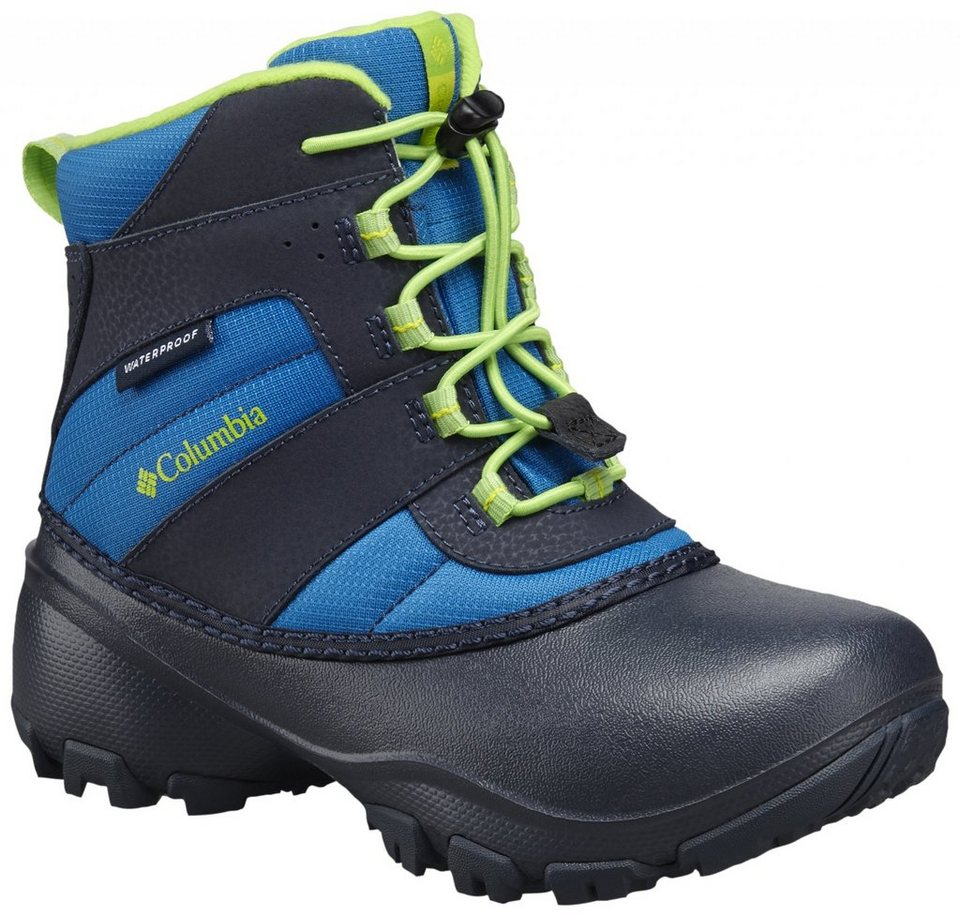 Columbia Stiefel »Rope Tow III Boots Children WP« in blau