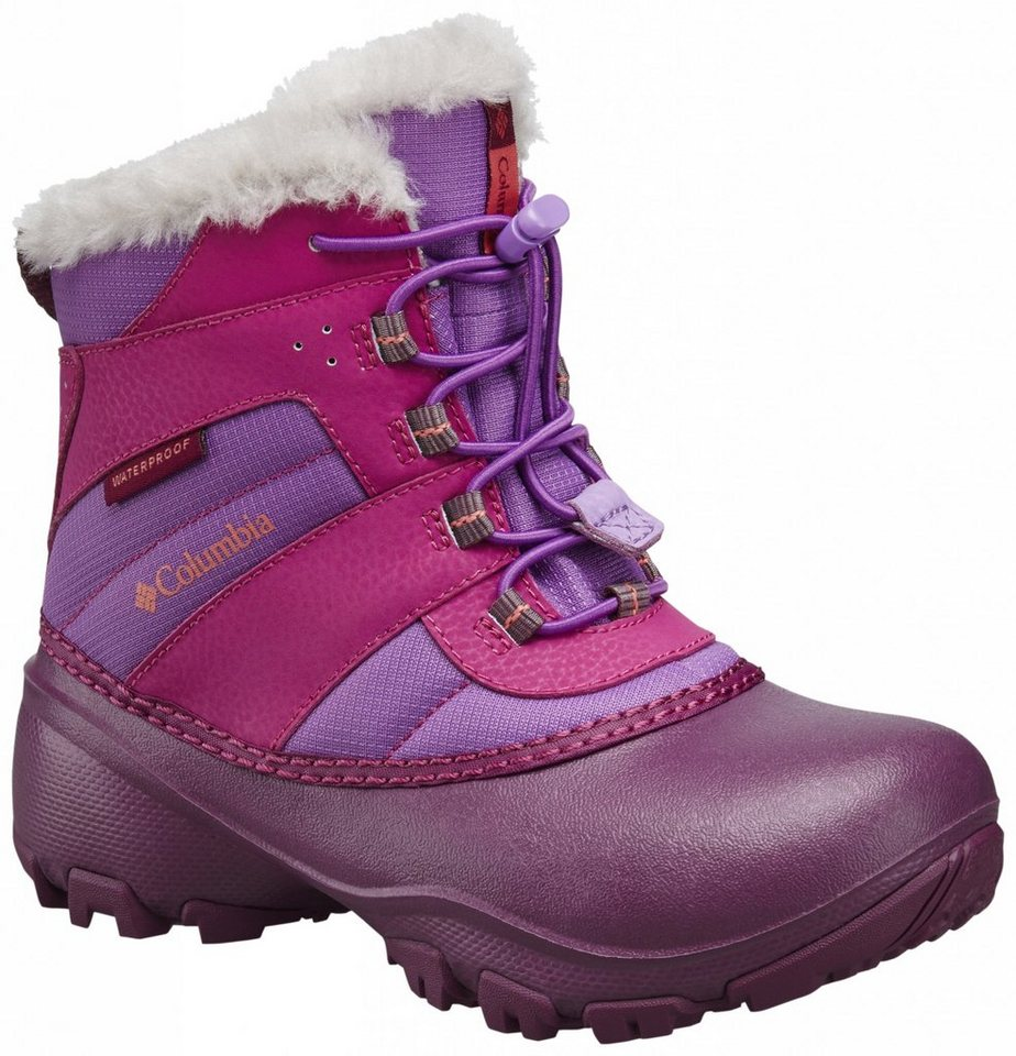 Columbia Stiefel »Rope Tow III Boots Children WP« in pink