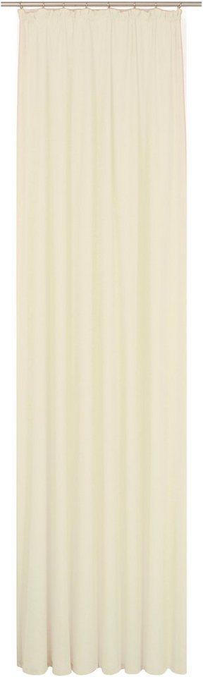 Vorhang, WIRTH, »LORCA«, mit Kräuselband (1 Stück) in creme
