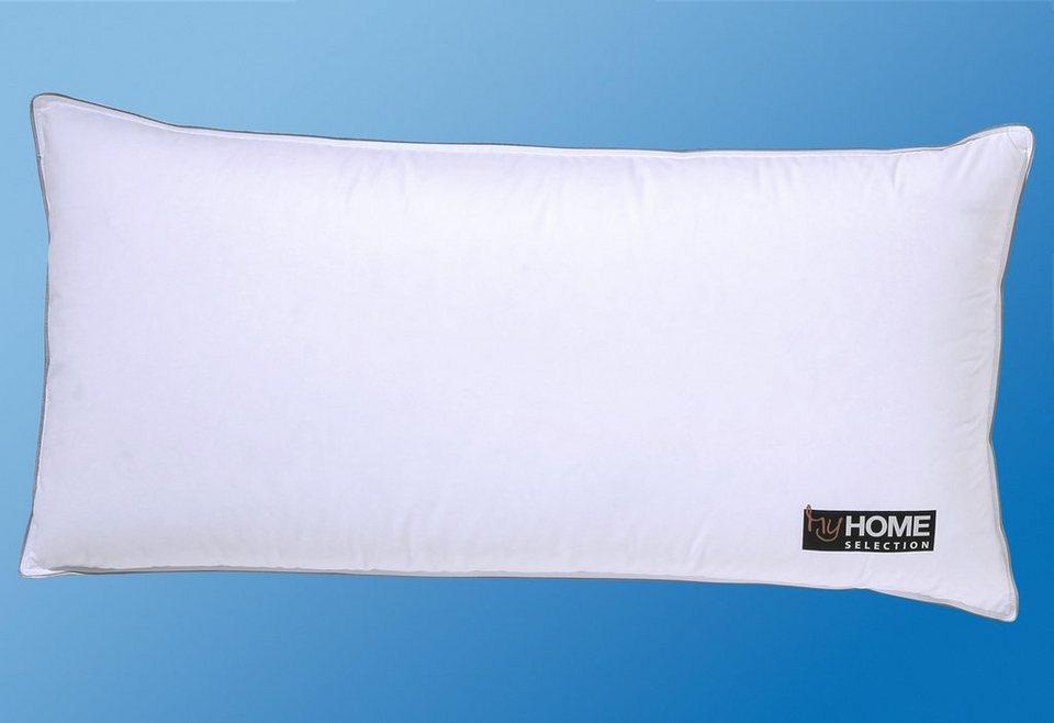 3-Kammer-Kopfkissen My Home Selection >>New York<< 40x80 cm, Qualität Premium