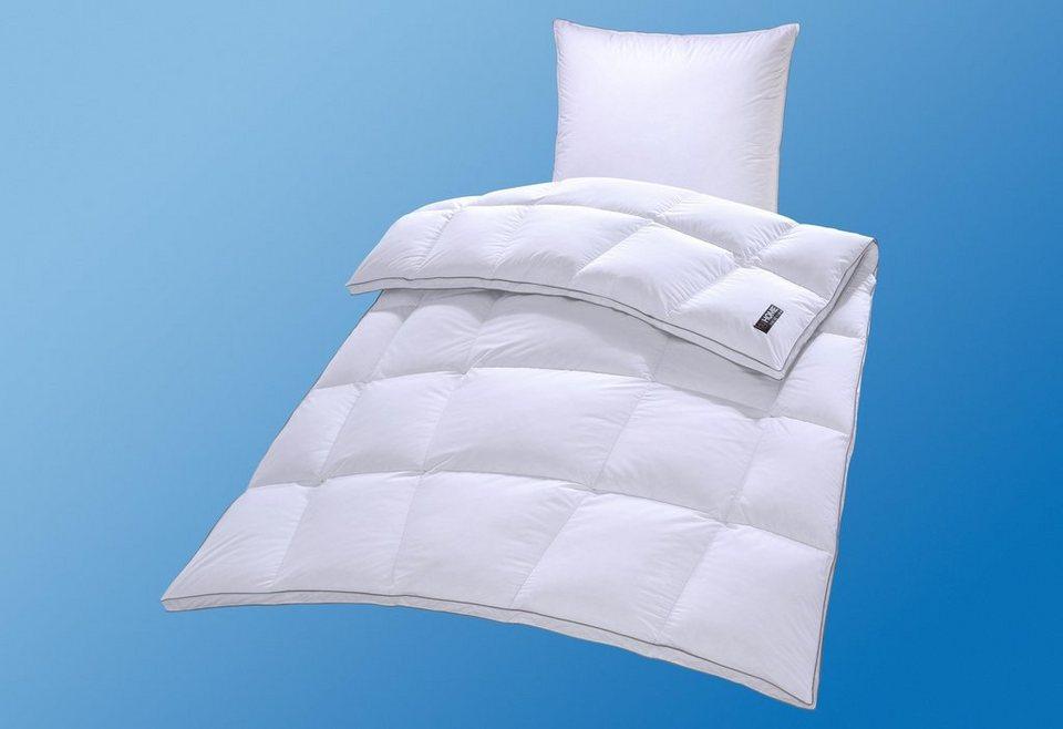 Bettdeckenset My Home Selection Mailand, Warm, 90% Daunen, 10% Federn