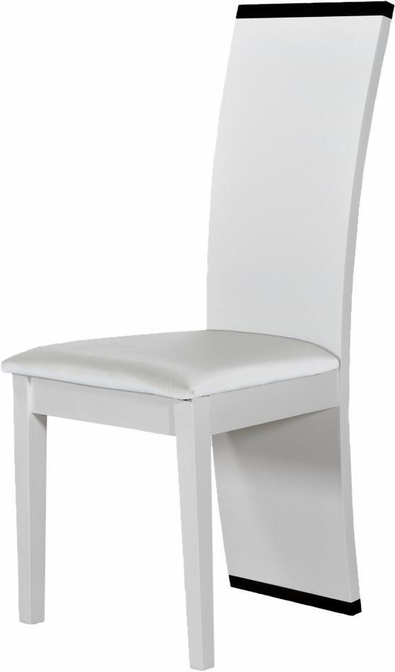 S.C.I.A.E. Stühle (2 Stck.) in weiß Hochglanz