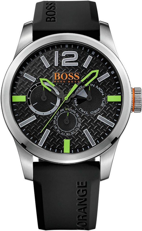 Boss Orange Multifunktionsuhr »Paris, 1513378« in schwarz
