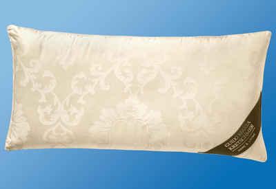 3-Kammer-Kopfkissen, »Florence«, GMK Home & Living, Außenkammer mit 90% Gänsedaunen, 10% Gänsefedern, 40x80 cm