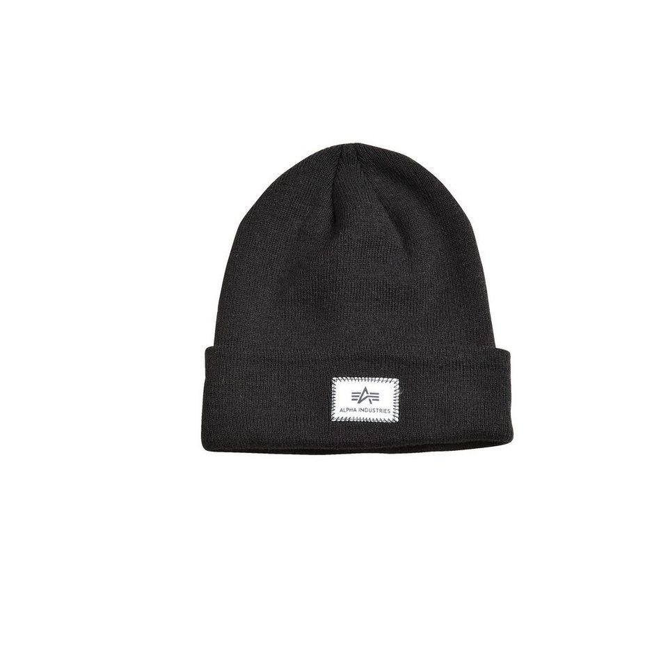 ALPHA INDUSTRIES Mütze »X-Fit Beanie« in black